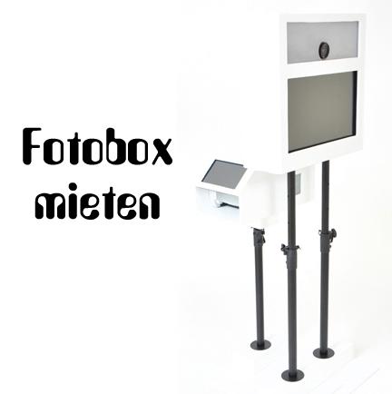 Fotobox mieten
